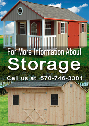 Call for information about storage sheds